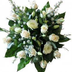 Pudrowe róże